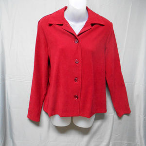 Briggs New York button red top small